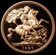 London Coins : A161 : Lot 2150 : Sovereign 1997 Proof S.SC2 nFDC retaining practically full mint brilliance, in an LCGS holder and gr...