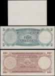 London Coins : A161 : Lot 276 : Fiji (3) 1 Shilling dated 1st January 1942, WW2 emergency issue, a remainder note without serial num...