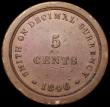 London Coins : A161 : Lot 2833 : Five Cents 1846 Copper Pattern SMITH ON DECIMAL CURRENCY by Marrian and Gausby, 35.5mm diameter Peck...