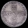 London Coins : A161 : Lot 2903 : Sixpence 1696 First Bust. Early Harp, Second L over M in GVLIELMVS and T over E in ET, unlisted by E...
