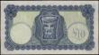 London Coins : A161 : Lot 322 : Ireland Currency Commission 10 Shillings dated 7th November 1941 series 12V 057575, war time code le...