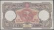 London Coins : A161 : Lot 330 : Italy Banca D'Italia 100 Lire dated 8th October 1943 series V1139 0953, signed Azzolini & U...