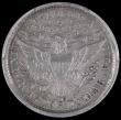 London Coins : A162 : Lot 1310 : USA Quarter Dollar 1896O Breen 4149 in a PCGS holder graded 'Cleaned AU Detail'