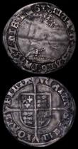 London Coins : A162 : Lot 1597 : Groats (2) Philip and Mary S.2508 mintmark Lis Fair/VG, Mary S.2492 mintmark Pomegranate/- VG/NF cre...