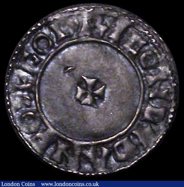 Penny Aethelred II Last Small Cross type S.1154 VF toned with a minor crease and small surface crack : Hammered Coins : Auction 162 : Lot 1620