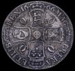 London Coins : A162 : Lot 1708 : Crown 1666 ESC 32, Bull 366 VG/About Fine