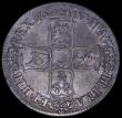 London Coins : A162 : Lot 1711 : Crown 1687 TERTIO ESC 78, Bull 743 Fine/About Fine