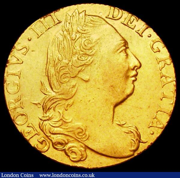 Guinea 1774 S.3728 NVF/GF with a small scuff on the shield rim : English Coins : Auction 162 : Lot 1776