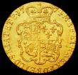 London Coins : A162 : Lot 1776 : Guinea 1774 S.3728 NVF/GF with a small scuff on the shield rim