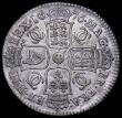 London Coins : A162 : Lot 1843 : Halfcrown 1676 Retrograde 1 ESC 478C, Fine/NVF, the obverse with some old scratches
