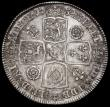 London Coins : A162 : Lot 1852 : Halfcrown 1732 Roses and Plumes ESC 596, Bull 1675 VF