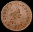 London Coins : A162 : Lot 1873 : Medalet or Pattern Halfpenny William and Mary Peck 636, undated, Peck lists these under 'uncert...