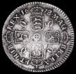 London Coins : A162 : Lot 1902 : Sixpence 1678 8 over 7, G of MAG struck over an O or D, ESC 1517, Bull 573 VF/About VF with an old t...
