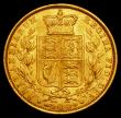 London Coins : A162 : Lot 1947 : Sovereign 1862 Wide Date S.3852D GVF/EF