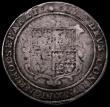 London Coins : A162 : Lot 2090 : Crown James I Second Coinage S.2652 mintmark Escallop VG or better with some flan stress marks, stru...