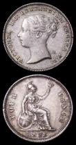 London Coins : A162 : Lot 2514 : Sixpence 1838 ESC 1682, Bull 3168, About UNC with pleasing tone, with small edge nicks by BRIT, Groa...