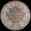 London Coins : A162 : Lot 2924 : German States - Hohenzollern under Prussia Gulden 1852A in a PCGS holder 'Cleaned- UNC detail&#...