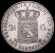 London Coins : A162 : Lot 2940 : Netherlands 2 1/2 Gulden 1861 KM#82 EF with some light contact marks