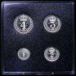 London Coins : A162 : Lot 3016 : Maundy Set 1991 aFDC light toning in a Royal Mint presentation box
