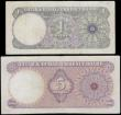 London Coins : A162 : Lot 320 : Qatar & Dubai Currency Board (2) issued 1960's, 1 Riyal series A/5 238724 (Pick1a) cleaned ...