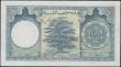 London Coins : A163 : Lot 1505 : Lebanon 100 Livres dated 1958 SPECIMEN note series E15 000000, perforated 'Cancelled', (Pi...