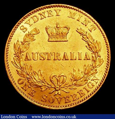 Australia Sovereign 1866 Marsh 371 A/UNC in an LCGS holder and graded LCGS 70 : World Coins : Auction 163 : Lot 2043