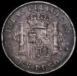 London Coins : A163 : Lot 2530 : Philippines Peso 1897SGV KM#154 GF/NVF with grey tone