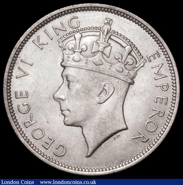 Southern Rhodesia Halfcrown 1937 KM#13 AU/UNC with minor contact marks : World Coins : Auction 163 : Lot 2541