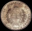 London Coins : A163 : Lot 2555 : Uruguay Peso 1917 KM#23 NEF with some contact marks