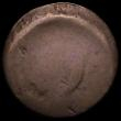 London Coins : A163 : Lot 29 : Perthshire - Deanston Adelphi Cotton Works, countermarked on a George III Halfpenny 1770-1775, Wools...