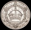 London Coins : A163 : Lot 425 : Crown 1930 ESC 370, Bull 3638 EF with a small flan flaw to the left of the crown