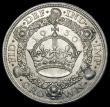 London Coins : A163 : Lot 427 : Crown 1930 ESC 370, Bull 3638 GEF/EF the obverse with minor contact marks