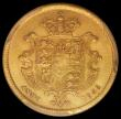 London Coins : A163 : Lot 538 : Half Sovereign 1835 Marsh 411 in a PCGS holder and graded AU53