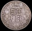 London Coins : A163 : Lot 635 : Halfcrown 1871 Fair, another of the 'missing' dates in the Young Head Halfcrown series. Al...