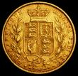 London Coins : A163 : Lot 901 : Sovereign 1859 higher 59 in date, as Marsh 42, (see Bentley Lot 1003) Good Fine