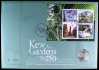 London Coins : A164 : Lot 110 : Numismatic First Day cover 2009 comprising Fifty Pence 2009 Kew Gardens 250th Anniversary Brilliant ...