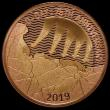 London Coins : A164 : Lot 1538 : Two Pounds 2019 D-Day 75th Anniversary Gold Proof, FDC uncased in capsule, as yet unlisted in the Sp...