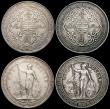 London Coins : A164 : Lot 1657 : Trade Dollars (3) 1901 Bombay GVF, 1907 Bombay GVF, 1930 Calcutta NVF