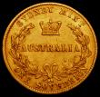 London Coins : A164 : Lot 295 : Australia Sovereign 1868 Sydney Branch Mint Marsh 373 NVF