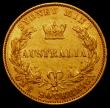 London Coins : A164 : Lot 296 : Australia Sovereign 1870 Sydney Branch Mint Marsh 375 GF/NVF with some contact marks