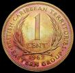 London Coins : A164 : Lot 348 : East Caribbean States - British Caribbean Territories 1 Cent 1962 VIP Proof/Proof of record KM#2 nFD...