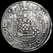 London Coins : A164 : Lot 378 : German States - Stolberg-Stolberg  Thaler 1624CZ KM#52, Dav.7778 Good Fine with traces of once havin...