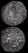 London Coins : A164 : Lot 498 : Scotland Twenty Pence Charles I S.5581 no B at end of legend, NVF with adjustment lines, GB Penny Ch...