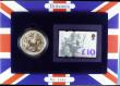 London Coins : A164 : Lot 52 : Britannia Silver Two Pounds and Ten Pound Stamp Set 1999 UNC in the wallet of issue, USA Silver Eagl...