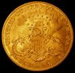 London Coins : A164 : Lot 564 : USA Twenty Dollars Gold 1904 Breen 7343 A/UNC with good subdued lustre