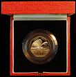 London Coins : A164 : Lot 58 : Fifty Pence 2000 150 Years of Public Libraries Gold Proof S.H11 nFDC in the Royal Mint box of issue ...