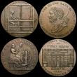 London Coins : A164 : Lot 596 : Halfpennies 18th Century (3) Devon - Plymouth 1796 Loom/Spinning Wheel DH6 VF with some light pittin...