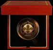 London Coins : A164 : Lot 63 : Fifty Pence 2007 100 Years of Scouting Gold Proof S.H17 nFDC in the Royal Mint box of issue with cer...