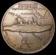 London Coins : A164 : Lot 645 : Algeria 'Compagne Generale Transatlantique' Algiers to Marseilles 1935 68mm diameter in br...
