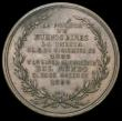 London Coins : A164 : Lot 648 : Argentina Inauguration of the Port La Plata 1883 57mm diameter in bronze by Y.H.Podesta Obverse Sun ...